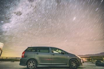 隨記 |  Kaikoura Lookout Starry Night