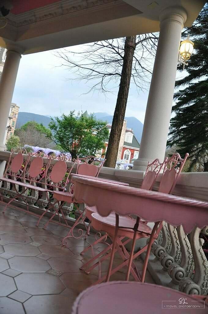 南投.埔里   歐式風格、歐式庭園   享受歐莉葉荷城堡花園下午茶時光趣