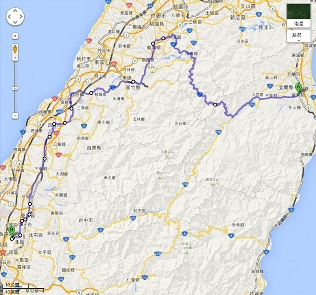 台灣.環島   單身男一個人15天反6字型環島之旅 + 台灣六極點 Day 2