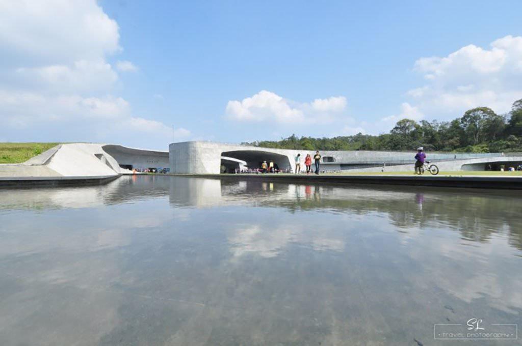 南投.魚池 | 環抱日月潭 | 富有設計感的建築造景:向山遊客中心
