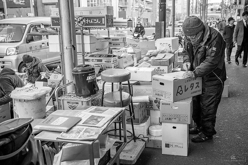 日本.東京 | 冬季自助 | 築地外市場 Tsukiji Fish Market