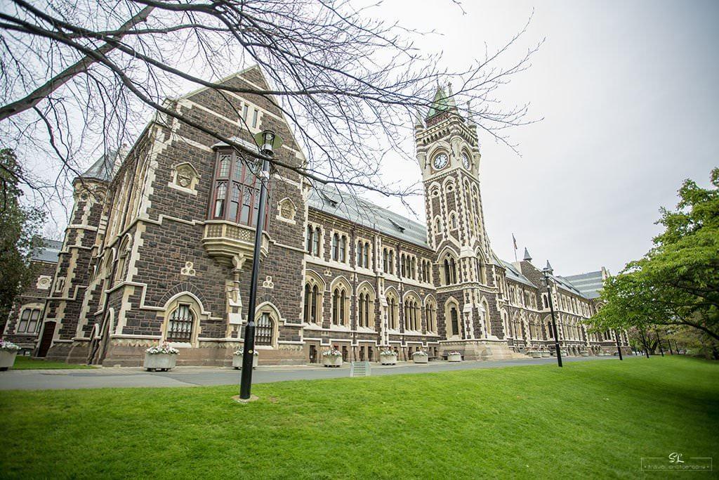 紐西蘭 | 但尼丁 Dunedin | 參訪紐西蘭最古老學校-奧塔哥大學 University of Otago