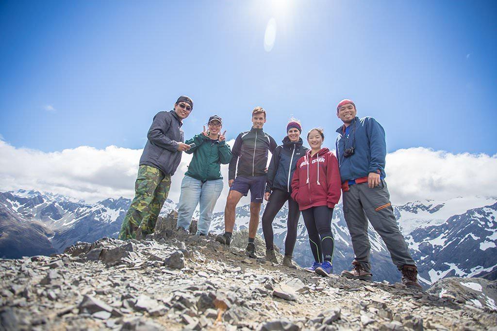 紐西蘭 | 亞瑟山口 Arthur's Pass | 位於 73 號公路旁的專家級步道 Avalanche Peak via Scott's Track