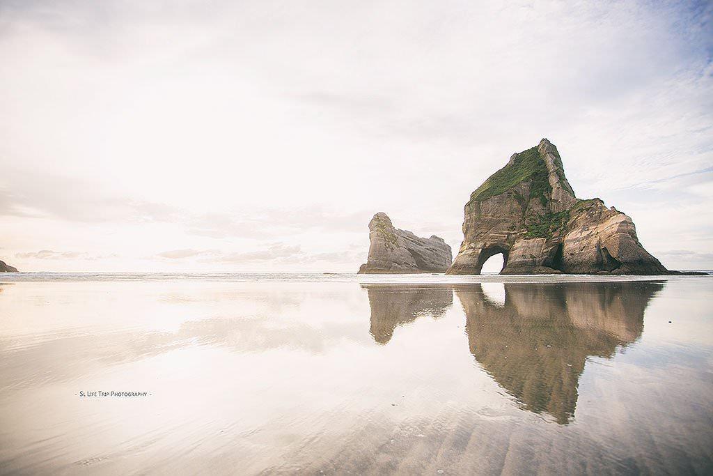 隨記 | Wharariki Beach 走進 Windows 10 的桌布之中