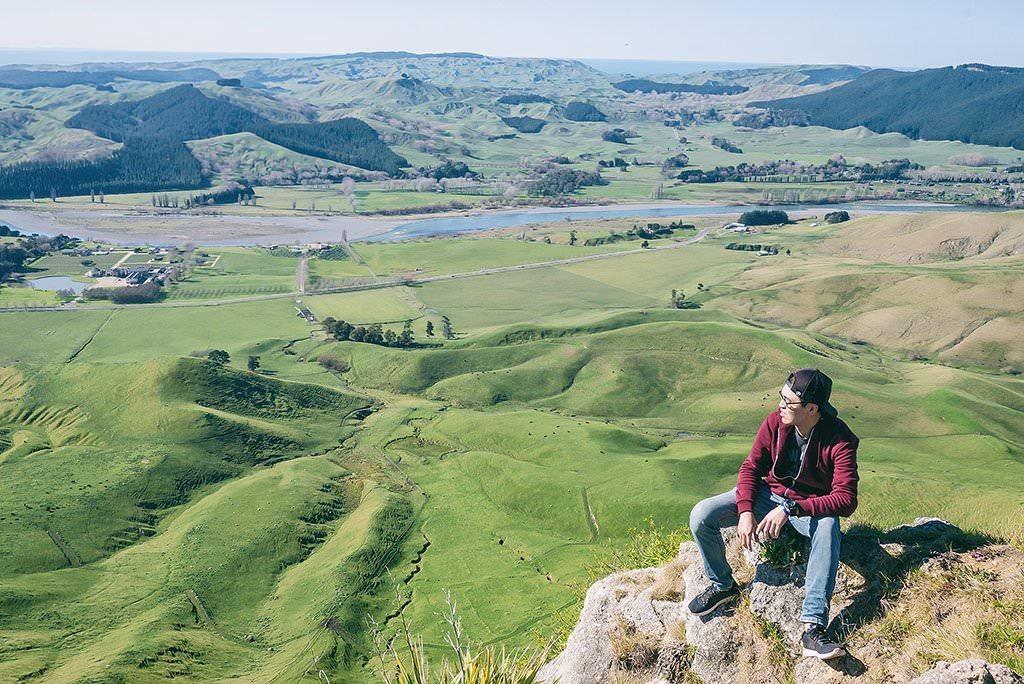 隨記 | 在蒂瑪塔峰 Te Mata Peak 健行